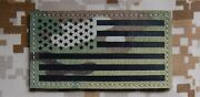 Infrared Multicam Ir Us Flag Uniform Patch Army Special Forces Green Beret Cag