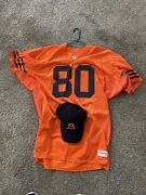 Rare Authentic Chicago Bears Throwback Orange Nfl Football Team Game Jersey Hat
