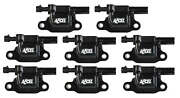 Accel 140081-8 Ignition Coils, Black, Square - 8 Pack