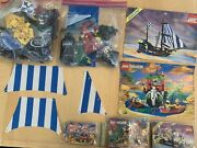 Vintage Lego Pirates Lot 6274, 6264, 6257 And More