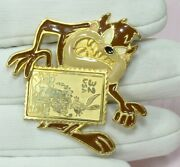 Looney Tunes Taz Vintage 1997 Post Office Usps Stamp Lapel Pin