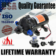 Marine Water High Pressure Diaphragm Pump 12v Dc 70psi 5.0gpm For Boat Rv Yacht