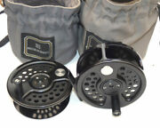 Hardy Sovereign Ltd Edition 8 Fly Reel And Spool And 2 Bags Best Condition