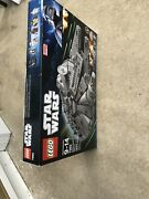 Lego Star Wars 7965 Millennium Falcon New Box Opened Seals Dried All Sealed Bags