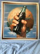 Nostalgic Metal Signs 1993, The Coca-cola Company Sign Earth Background New