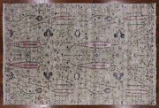 6' 1 X 9' 0 Cypress Tree Hand Knotted Wool And Silk Area Rug - P9849
