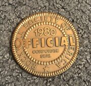 Rockwell Society Of America 1980 Official Corporate Seal Medal Coin
