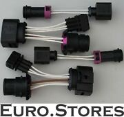 Audi A4 B5 Facelift Headlight Plug And Play Lights S4 8d Adapter Cable New