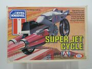 Vintage 1976 Ideal Evel Knievel Super Jet Cycle New Sealed Super Rare Pg164b
