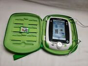 Leappad1 32200 Leap Frog Tablet Green Tablet W/ Case Power Cordandtoy Story Game