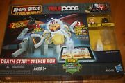 New In Box Sealed Angry Birds Star Wars Telepods Death Star Trench Run Ship Free