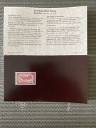 1958 Overland Mail Postal Commemorative Society First Day Cover Issue Stamp New