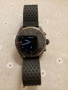 Mont Blanc Summit 2 Smart Watch - Titanium With Box And Charger.