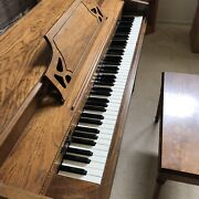 Schafer And Sons Upright Spinet Piano - Serial 228964 - Model 93 1977/1978