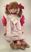 Steiff 705021 Doll Monika From Pink Adami Limited Series New Boxed