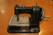 Rare Model Of A Vulcan Vintage Sewing Machine Toy Miniature