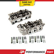 Left And Right Cylinder Head Fit 95-04 Toyota 4runner Tacoma Tundra T100 3.4 5vzfe