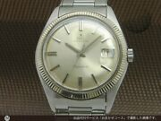 Ebel Napoleon Pyramid Bezel Cal.214 Automatic Vintage Watch 1960and039s