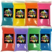 1 Pound Bags - 8 Lbstotal Backyard Color Fun Powder Perfect For Color Wars, Runs