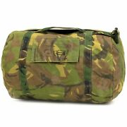 Dutch Army Military Surplus Woodland Small Gear Bag - About 20l