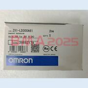 1pc Brand New Omron Zx1-ld300a61 Smart Sensors 1year Warranty Dhl Free Ship