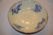 Vintage Authentic Flow Blue Bowl Columbia Tunstall Uk Markings