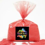 Color Blaze Powder Red 25lbs - Ideal For Runs And Holi Events, Color Wars And More