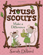 Sarah Dillard-mouse Scouts Make A Difference Uk Import Book New