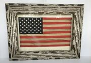 Pottery Barn American Flag Shadow Box Americana New Sold Out At Pottery Barn