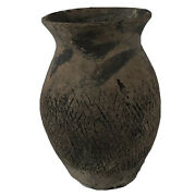 Ancient Chinese Neolithic Age Tomb Pottery Jar Artifact Authentic Antiquity Asia