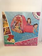 New Disney Princess Hide About Play Structure Tent Tunnel Belle Ariel