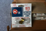 Vintage Collectible Ac Gm Original Box Of 10 Two Lamp Blister Cards Bulbs L1073