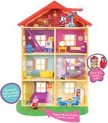 Peppa Pigand039s Lights And Sounds Family Home Feature Playset Standard Packaging