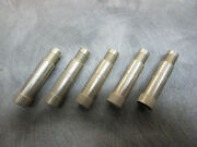 Vintage Tire Valve Extension Stainless Steel 5x 1 1/4 Wire Cap Cadillac T-bird