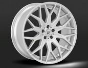22 Lexani Morocco Wheels Flow Forged Silver Rims Stagger Fit Challenger 300c