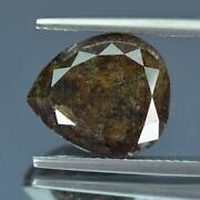 8.99cts 100natural Nice Brownish Green Color Untreat Diamond For Fashion Jewel