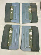 Used 1966 Lincoln Continental Blue L R Front Rear Door Interior Panels Soft Trim
