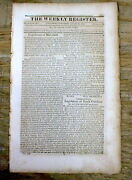 1813 Newspaper W Us Mint Output Of Gold Copper Silver Coins In 1812 Numismatics