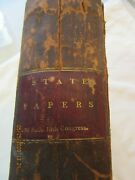 Rare Book 1814 Treas. Annual Report To President James Madison 4th Pres. Of Us