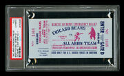 1942 Chicago Bears Full Complete Ticketfenway Parkall Armypsa Auth Authentic