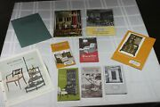 Lot Of Kittinger Furniture Advertising Catalogs And Brochures 9 Pieces Ad Flyer