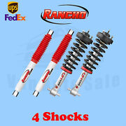 Rancho Kit 4 Front And Rear Strut Rs5000 Shocks For Chevrolet Tahoe 07-13