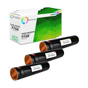 3pk Tct Premium 7750 Cmy For Xerox Phaser 7750 7750dn Ex7750 Compatible Toner
