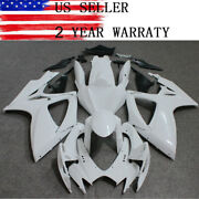 Motocycle Fairing Kit Plastic Unpainted Bodywork For Suzuki Gsxr600/750 2006 07