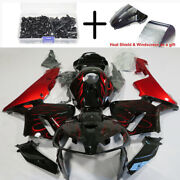 20 Pieces Fairing Kit For Honda Cbr600rr 2005 2006 Abs Injection Molding Set Red