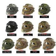 Airsoft Paintball Tactical Fast Helmet Goggles And G4 System Games Full Face Mask