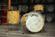 Gretsch Broadkaster 3pc Drum Set 22/12/16 - Antique Pearl Finish