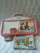 Pink Littletouch Leappad Leapfrog Baby Console System 2 Books And Cartridges