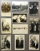 10 Ca 1900s Real Photo Postcards Rppcs Of Men In Couples Or Groups