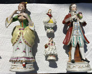 Lot Of 4 Made In Occupied Japan Figurines Vintage Ceramic